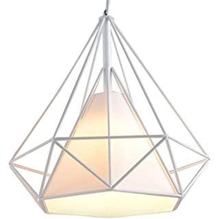 lampara de techo blanca industrial 10