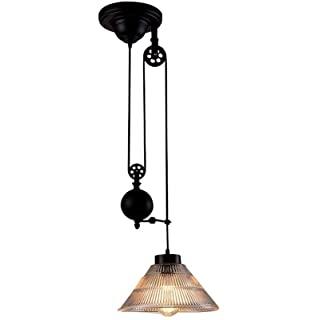 lampara de techo colgante industrial 06