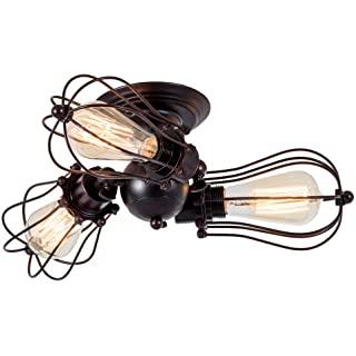 lampara de techo vintage industrial 01