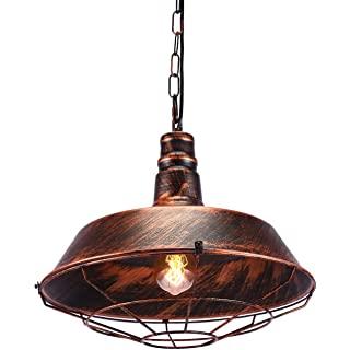 lampara de techo vintage industrial 09