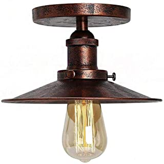lampara de techo vintage industrial 10