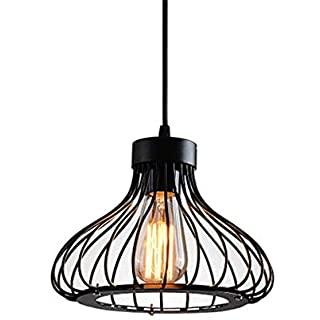 lampara de techo industrial de metal 03