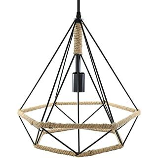 lampara de techo industrial de metal 02