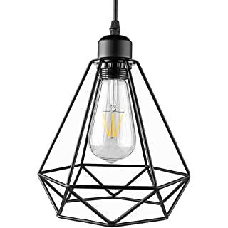 lampara de techo industrial de metal 06
