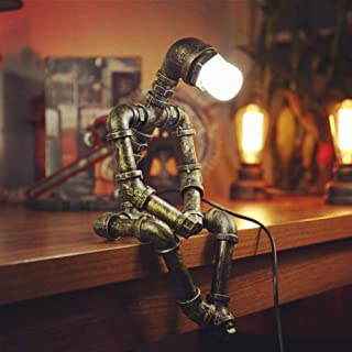 lampara de mesa estilo industrial 10