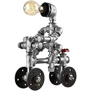 lampara de mesa industrial decoracion 01