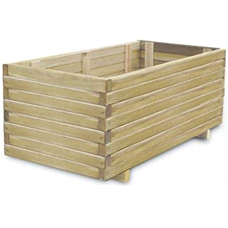 macetero industrial de madera 08