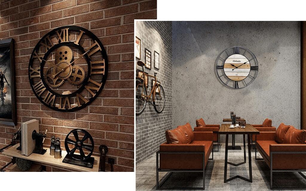 reloj industrial leroy merlin