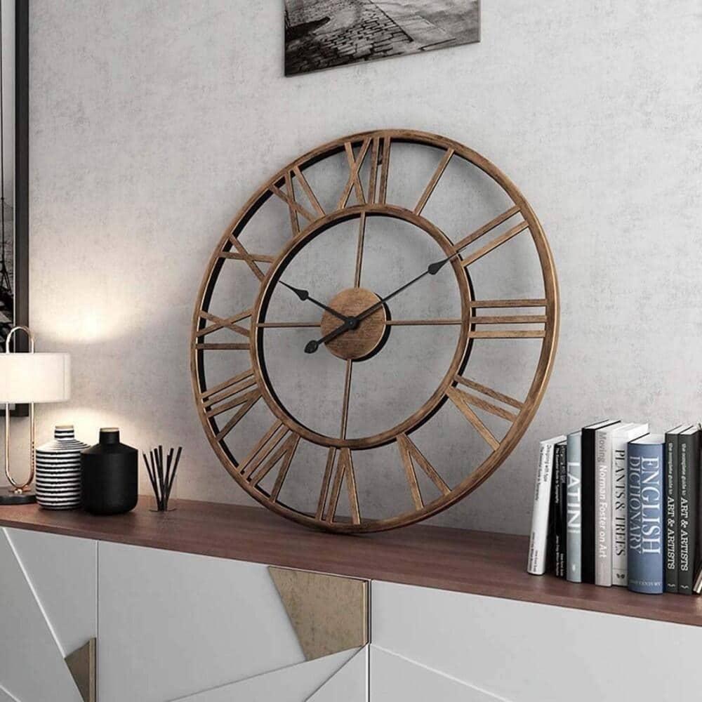 reloj industrial ikea