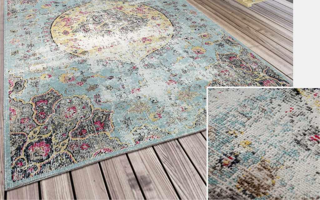 alfombra vintage industrial