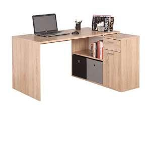 escritorio industrial madera