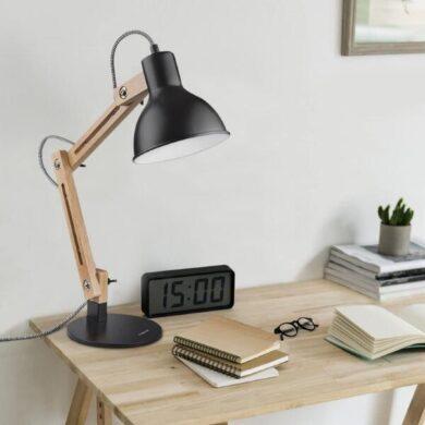 lampara de mesa industrial