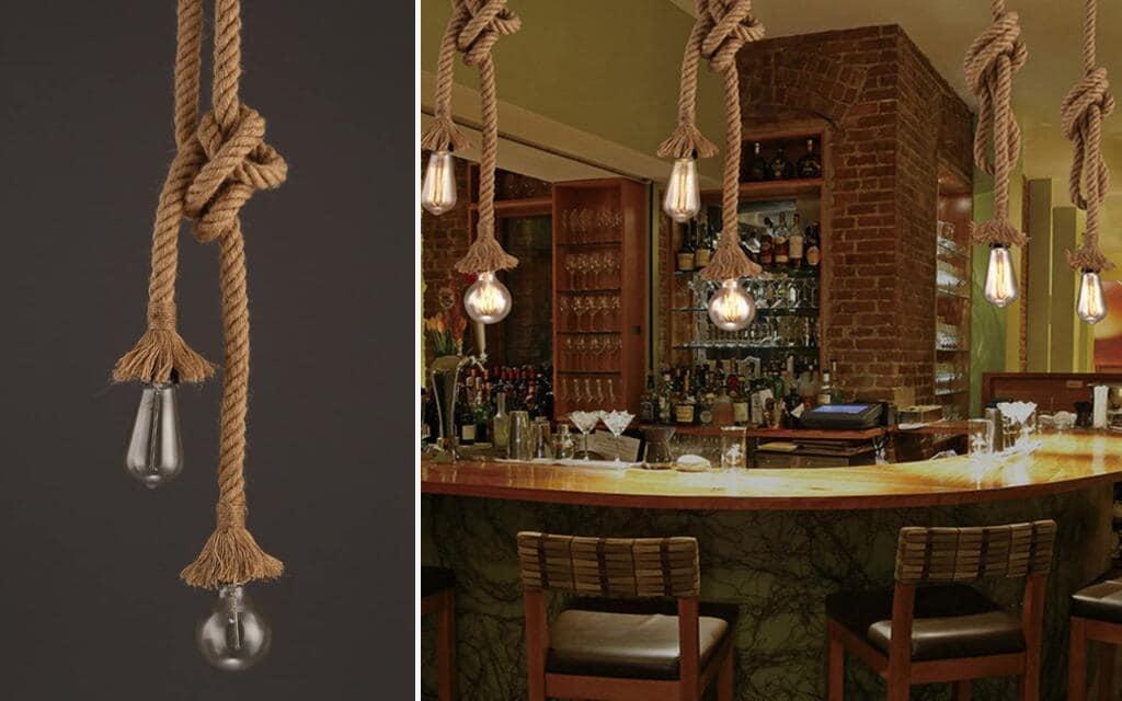lámpara industrial barata