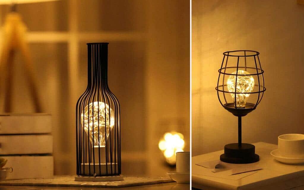 lámpara mesa industrial barata