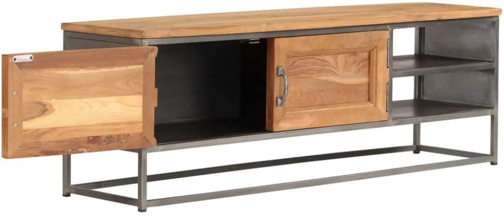 mueble de tv rustico