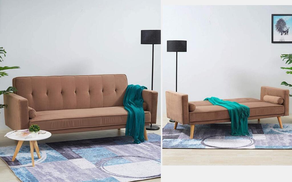 sofá cama industrial barato