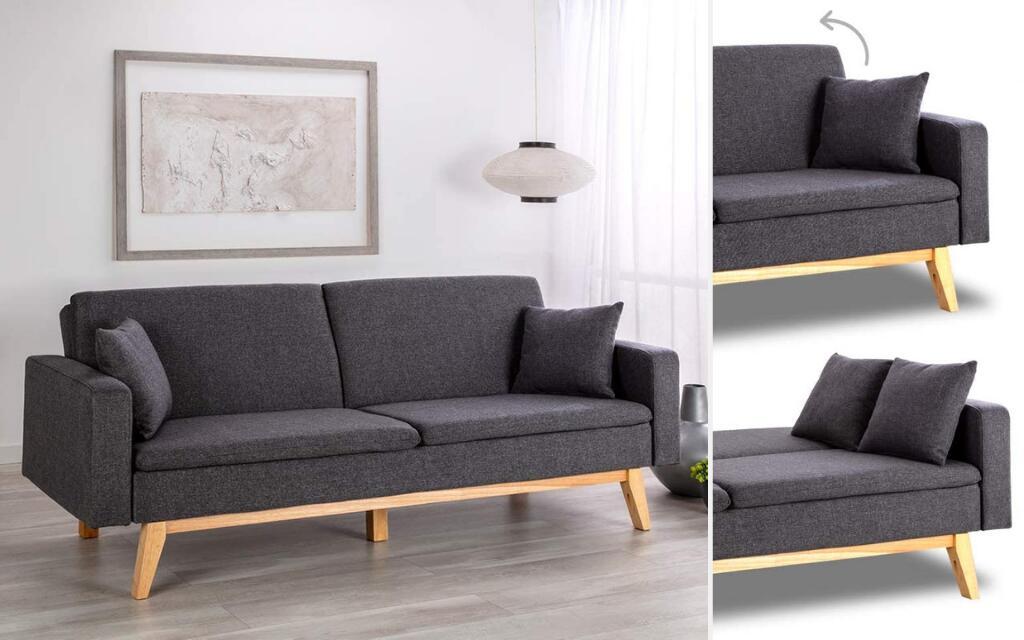 sofá cama industrial