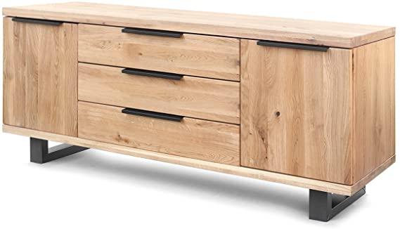 aparador estilo industrial de madera