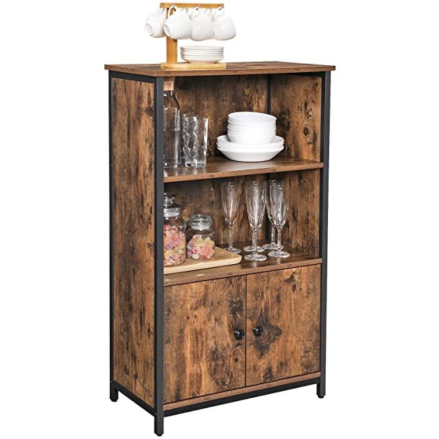 armario estilo industrial metal madera