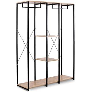 armario metal madera 05