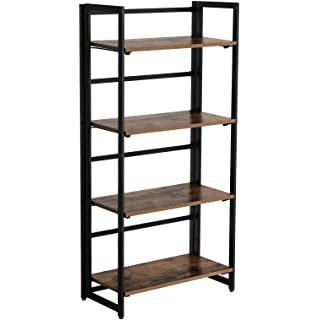 biblioteca metal madera 04