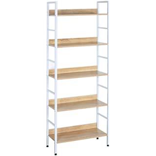 biblioteca metal madera 06