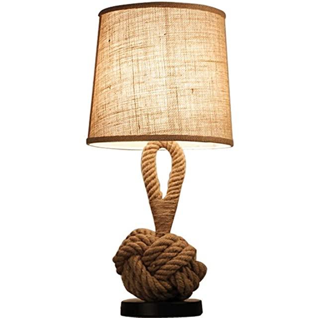 Lámpara de Noche Industrial Rústica