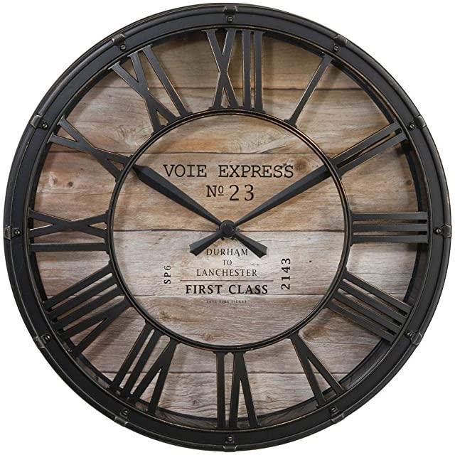 Reloj Industrial Retro