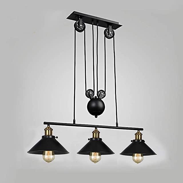 Lámparas de Techo Industriales con Poleas