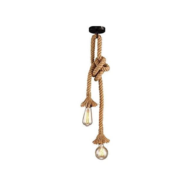 Lámpara de Soga Estilo Industrial