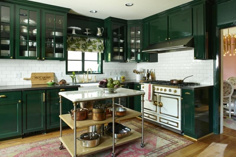 cocina estilo industrial vintage