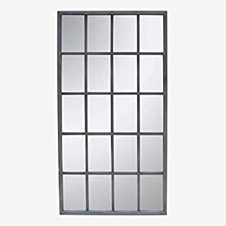 espejo estilo industrial de hierro 04