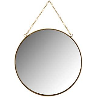 espejo estilo industrial redondo 07