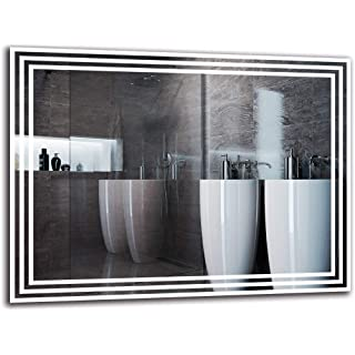 espejo estilo industrial blanco 06