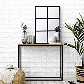 espejo estilo industrial negro 09