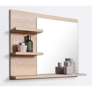 espejo estilo industrial de baño 02