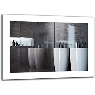 espejo estilo industrial de baño 07