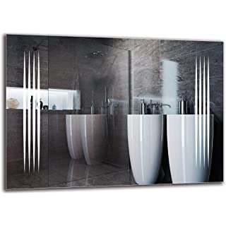espejo estilo industrial de baño 08