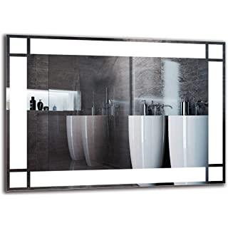 espejo estilo industrial de baño 06