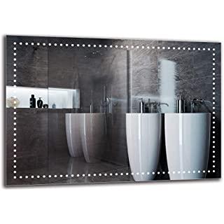espejo estilo industrial de baño 09