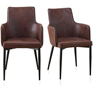sillas estilo industrial tapizadas 06