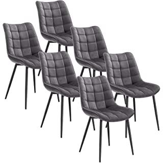 silla estilo industrial tapizada para comedor 01