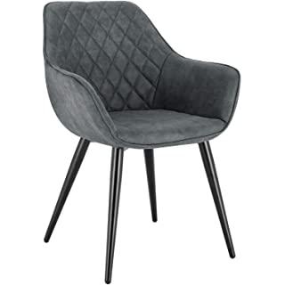 silla estilo industrial tapizada para comedor 08