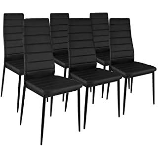 silla estilo industrial tapizada para comedor 09