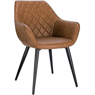 silla estilo industrial tapizada para cocina 01