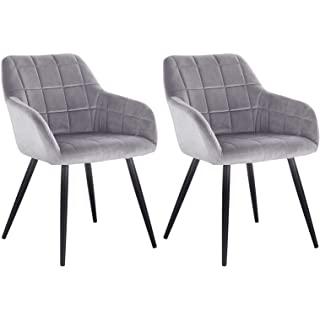 silla estilo industrial tapizada para cocina 02