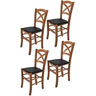 silla estilo industrial de madera tapizada 08