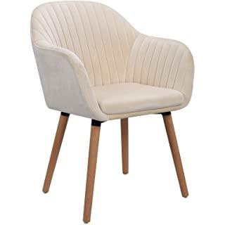 silla estilo industrial de madera tapizada 09