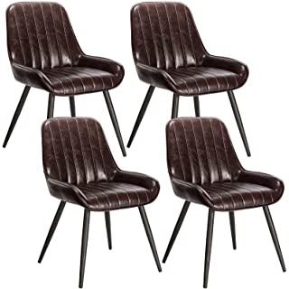 silla estilo industrial de metal  tapizada 04