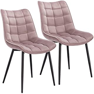 silla estilo industrial de metal  tapizada 08